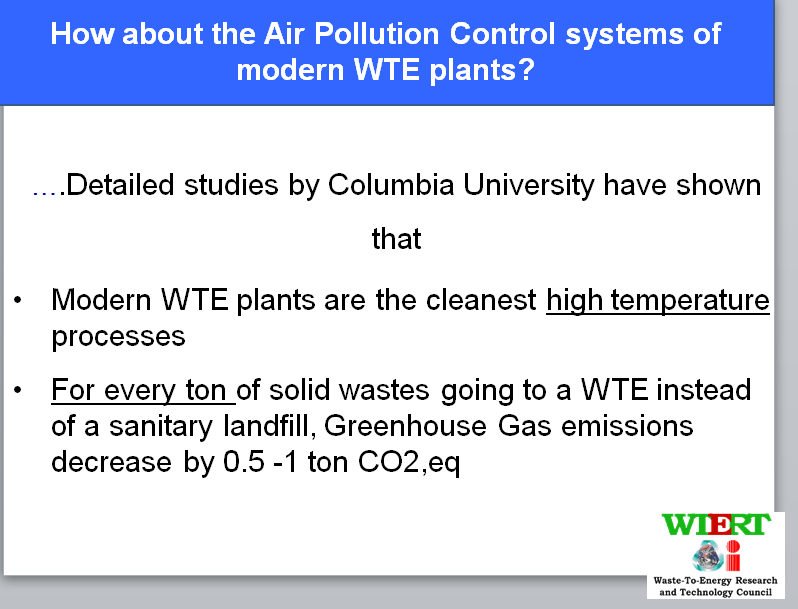 WtERT - Waste to Energy - Support for Decisions